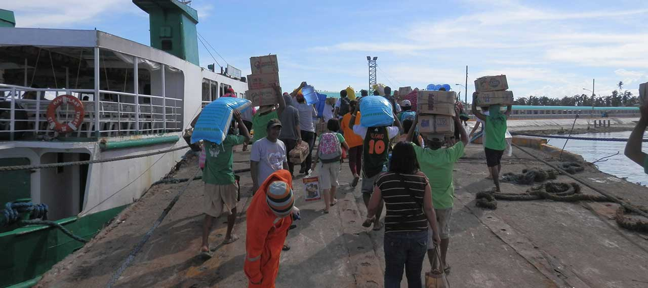 Bantayan Island Relief Efforts - Typhoon Haiyan