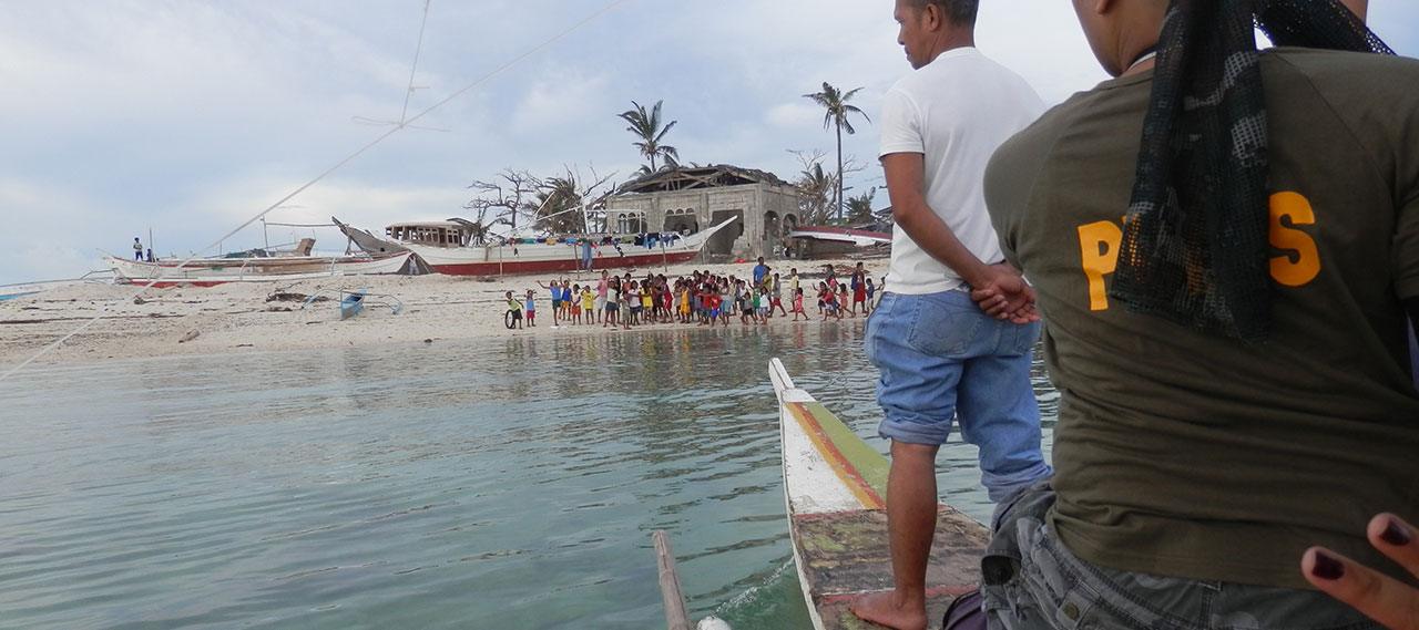 Hilantagaan Island Relief Efforts - Typhoon Haiyan