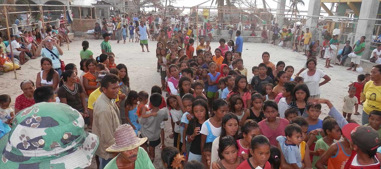Hilantagaan Island Relief Efforts - Typhoon Haiyan