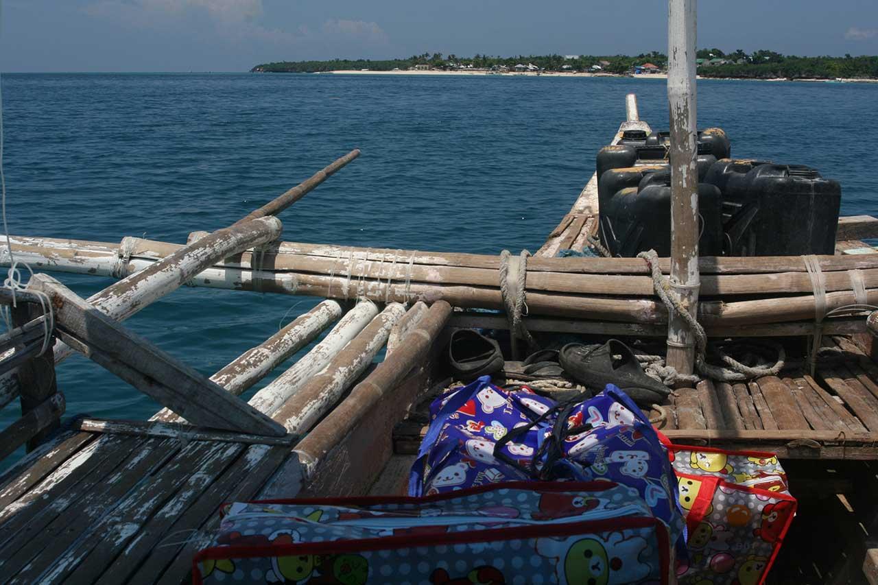 School Supplies on Boat