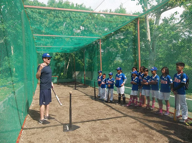 Anda Braves Baseball Program Batting Practice