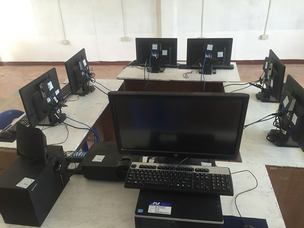 World Aid Bitcoin Donations Computer Lab Project